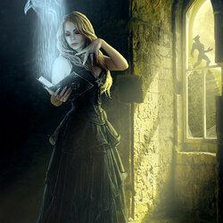 Пазл онлайн: Черная магия