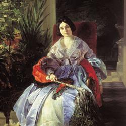 Пазл онлайн: Княгиня Е.П.Салтыкова