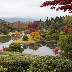 Пазл онлайн: Императорский парк в Киото