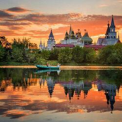 Пазл онлайн: Измайловский Кремль