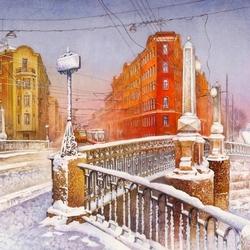 Пазл онлайн: Мало-Калинкин мост