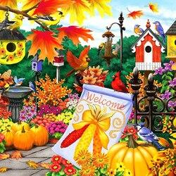 Пазл онлайн: Добро пожаловать, осень