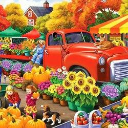 Пазл онлайн: Богатый урожай