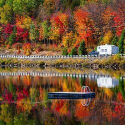 Пазл онлайн: Золотая осень