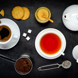 Пазл онлайн: Чай или кофе?