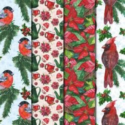 Пазл онлайн: Рождественские узоры