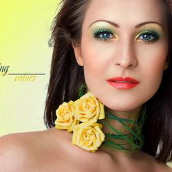 Пазл онлайн: Цвета весны - желтый