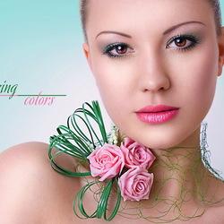 Пазл онлайн: Цвета весны - зеленый