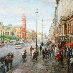 Пазл онлайн: Невский проспект