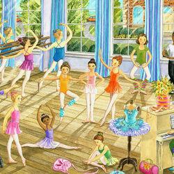 Пазл онлайн: Урок балета