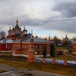 Пазл онлайн: В городе Коломне