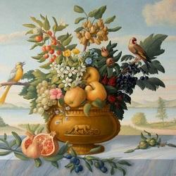 Пазл онлайн: Яблоневый цвет