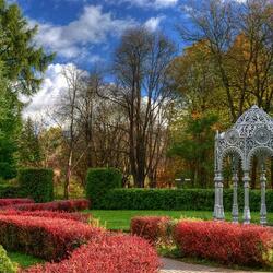 Пазл онлайн: Ботанический сад