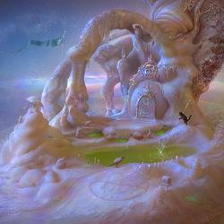 Пазл онлайн: Место, где происходит магия