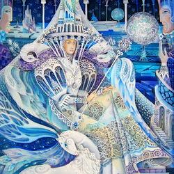 Пазл онлайн: Царица Зима