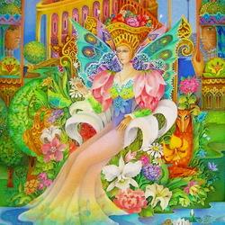 Пазл онлайн: Царица Лето