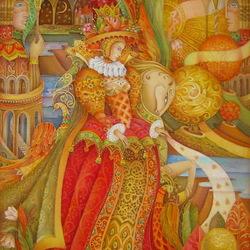 Пазл онлайн: Царица Осень
