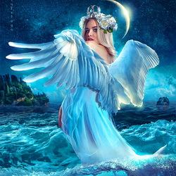 Пазл онлайн: Принцесса Лебедь