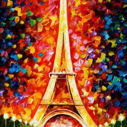 Пазл онлайн: Эйфелева башня