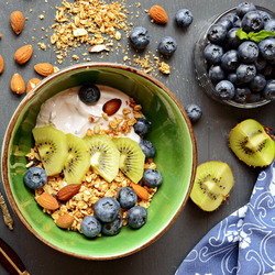 Пазл онлайн: Мюсли на завтрак