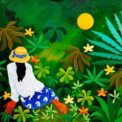 Пазл онлайн: Тропическая ночь