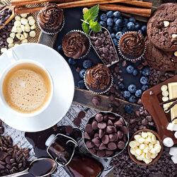 Пазл онлайн: Любовь к шоколаду