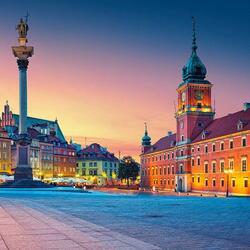 Пазл онлайн: Варшава