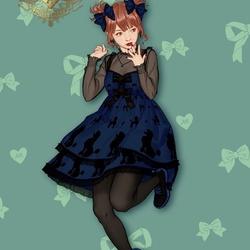 Пазл онлайн: Стиль Лолита