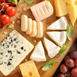 Пазл онлайн: Вкусные сыры