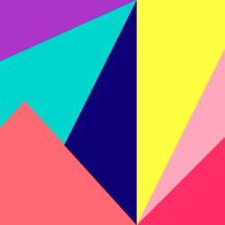 Пазл онлайн: Цветная геометрия
