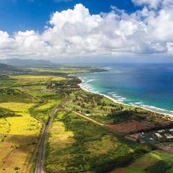 Пазл онлайн: Панорама побережья