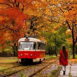 Пазл онлайн: Трамвай