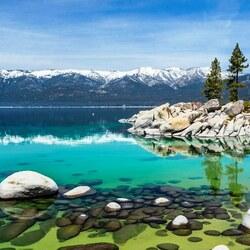 Пазл онлайн: Озеро Тахо