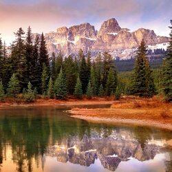 Пазл онлайн: Гора-Крепость
