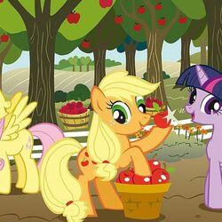 Пазл онлайн: Мои маленькие пони