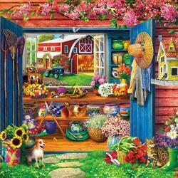 Пазл онлайн: Домик для садовода