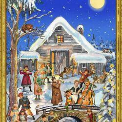 Пазл онлайн: Праздничный вечер