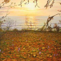 Пазл онлайн: Осенний закат