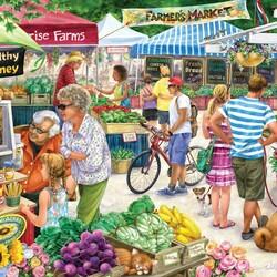 Пазл онлайн: Фермерский рынок