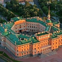Пазл онлайн: Михайловский замок