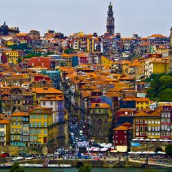 Пазл онлайн: Город Порту