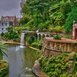 Пазл онлайн: Дворец Монте. Португалия