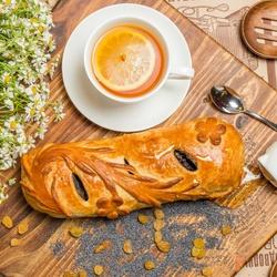 Пазл онлайн: Пирог с маком