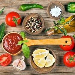 Пазл онлайн: Соус из томатов