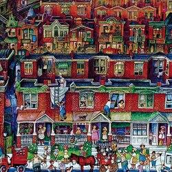 Пазл онлайн: Соседи