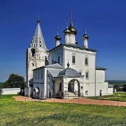 Пазл онлайн: Собор в Гороховце