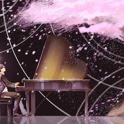 Пазл онлайн: Пианист