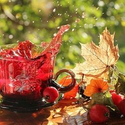 Пазл онлайн: Осенний напиток