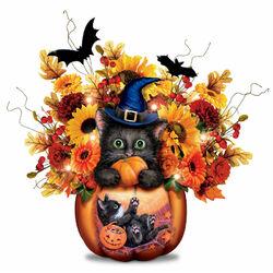 Пазл онлайн: Букет на Хэллоуин