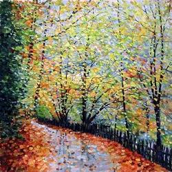 Пазл онлайн: Осенний день